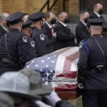 Funeral Of Us Capitol Officer William Evans Underway