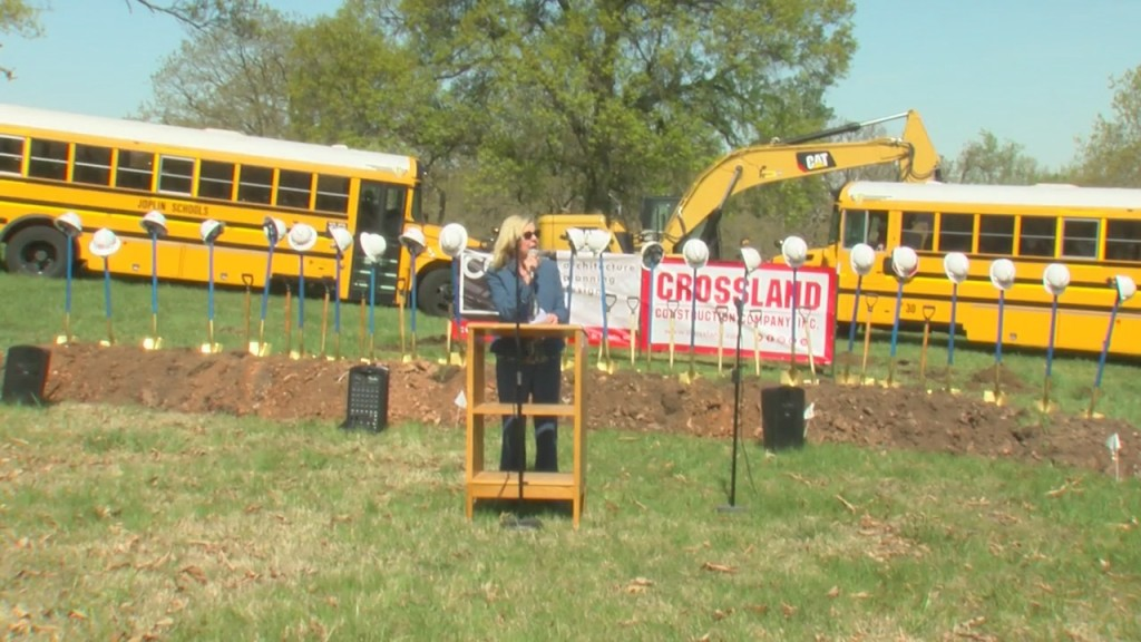 Groundbreaking Takes Place At New Joplin School