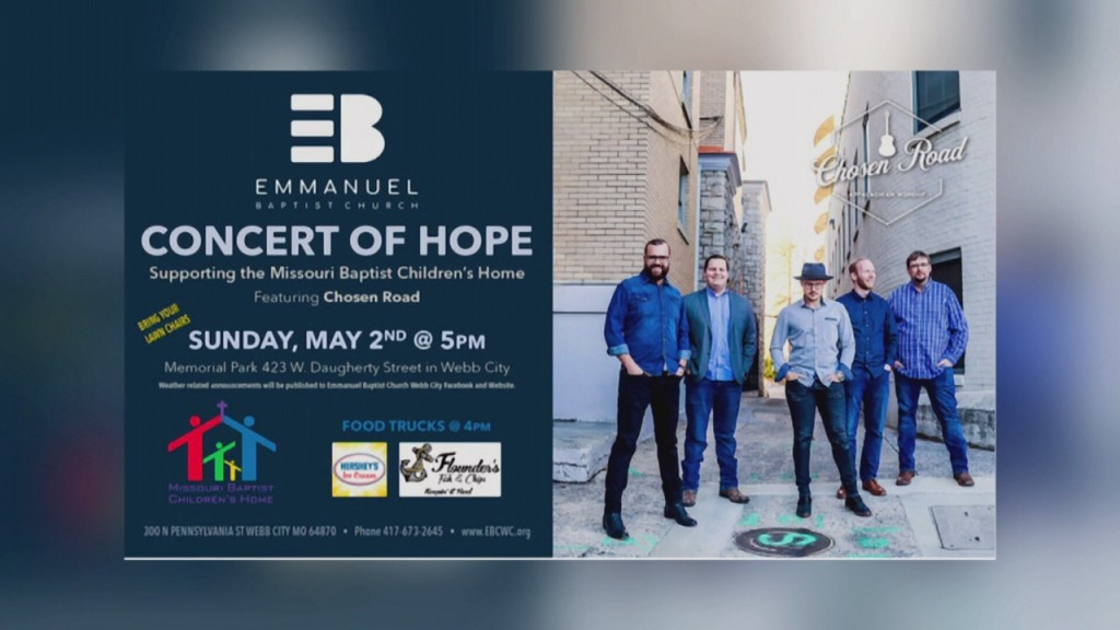 Concert Of Hope In Webb City