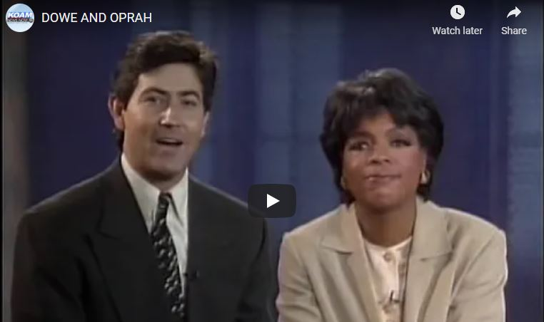 Dowe And Oprah Promo From 1995