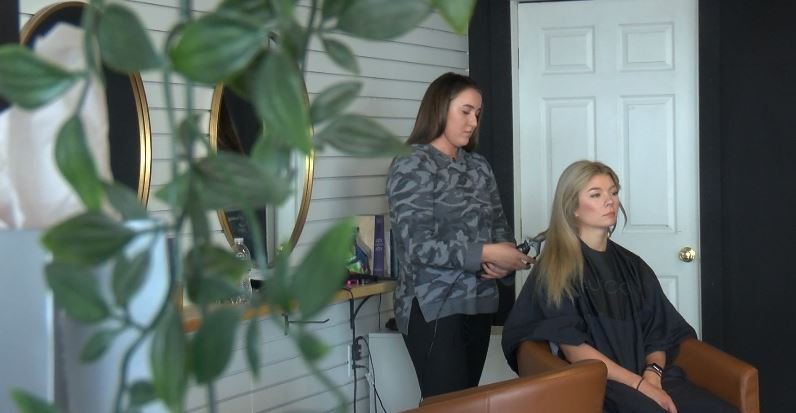 Kaytin Conness At Halo Salon In Carthage