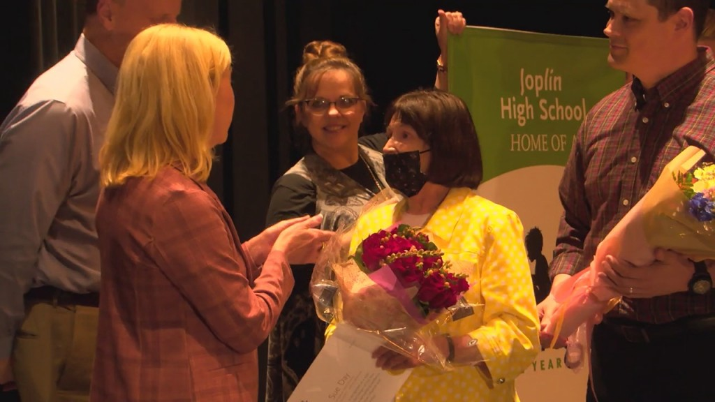 "A Joplin Educator Is Honored As A ""life Changer Of The Year"""