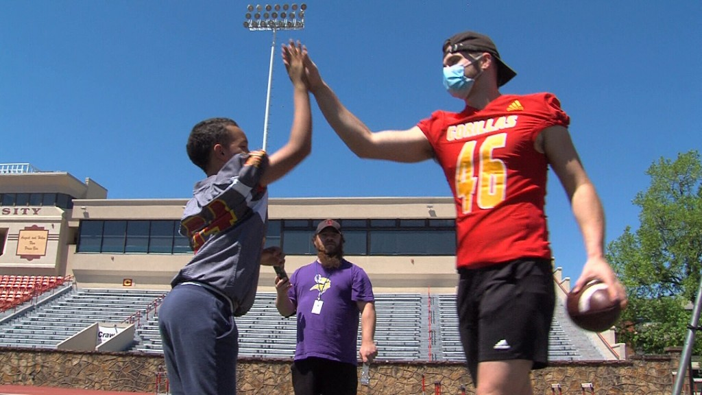 """Pitt State Football Partners With Kansas Special Olympics For """"victory Day"""""""