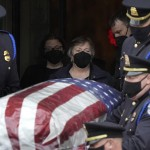 Hundreds Pay Respects At Funeral Of Slain Us Capitol Officer
