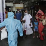 Day Workers Fill Trains Out Of Mumbai As Virus Dries Up Jobs