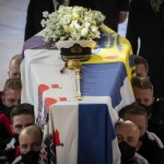 The Latest: Crowds Line Streets To Pay Respects To Philip