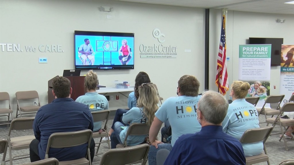 Ozark Center And The Show Me Hope Organization Presented At An Open House