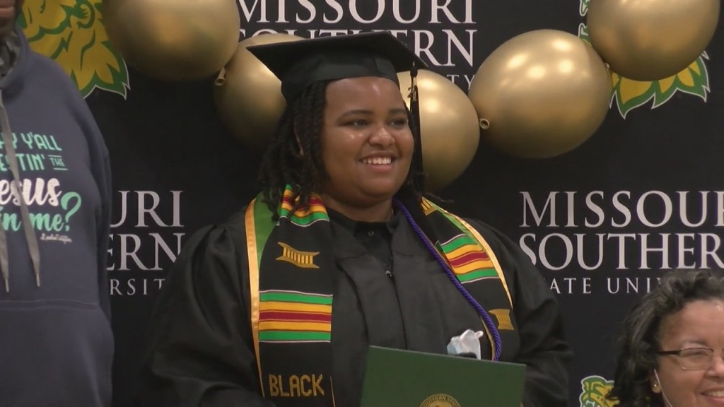 Missouri Southern State University Hosted It's 76th Commencement Ceremony Today