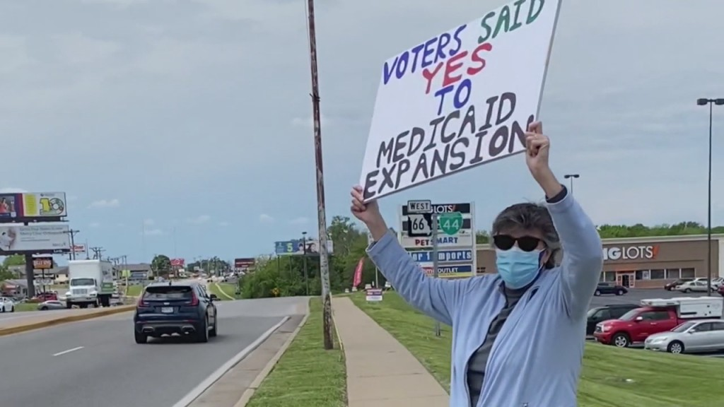 Missouri residents protest against inaction on medicaid expansion funding