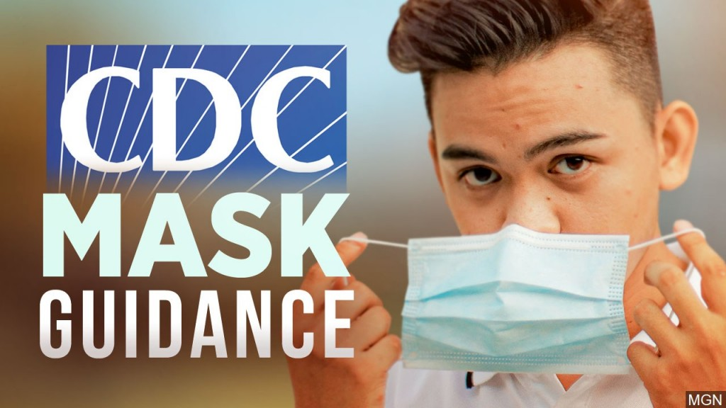 Cdc Mask Guidance