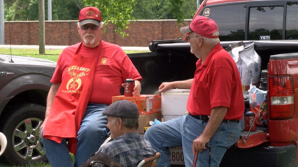 Folks Have Fun At The Pittsburg Shriners Picnic