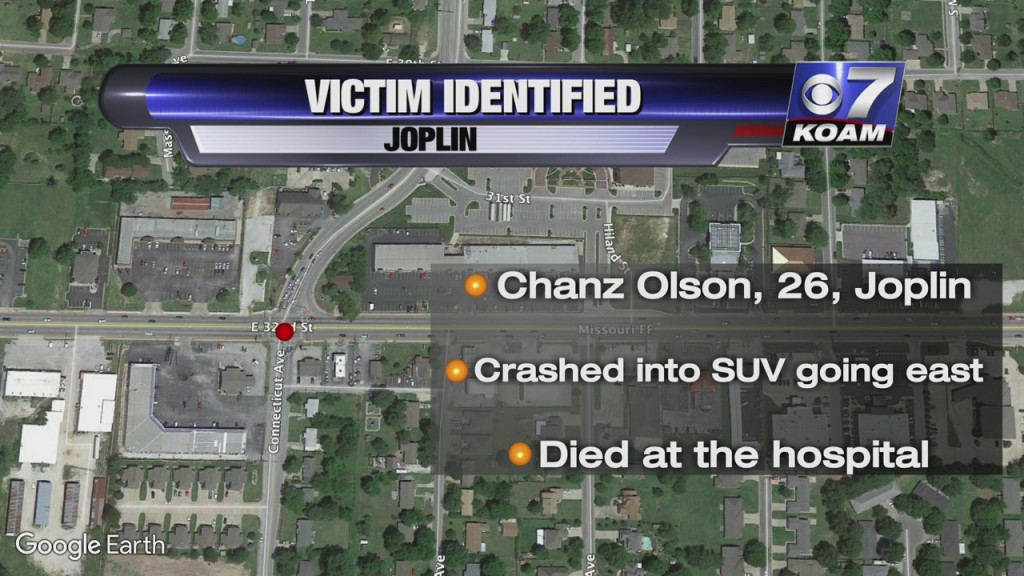 map of joplin where chanz olsen died