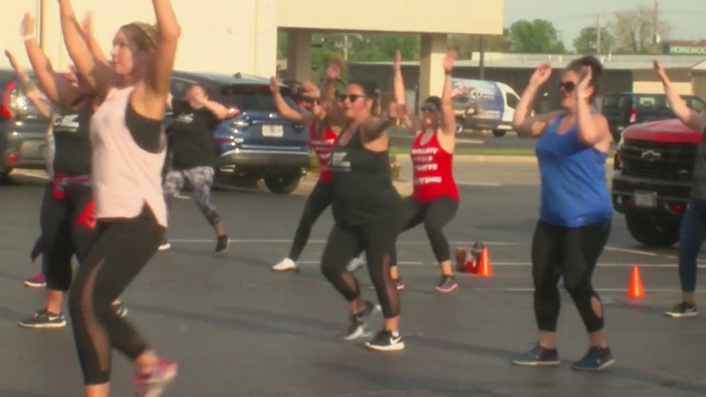 Every Body Fitness In Joplin Hosts A Zumba Thon To Raise Funds For Christian Heady.