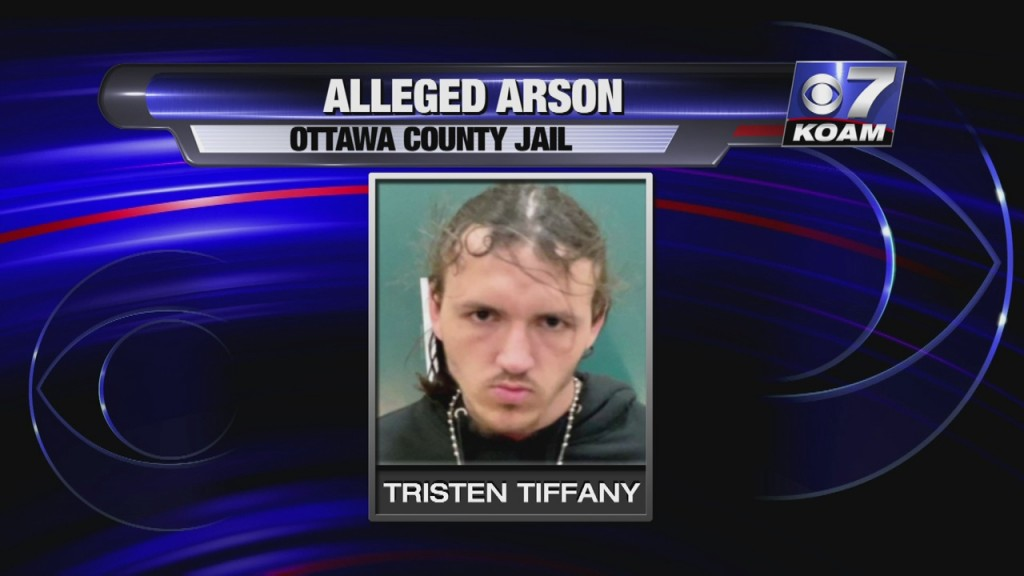 Inmate Tristen Tiffany Is A Suspect In An Arson Incident In Ottawa County.
