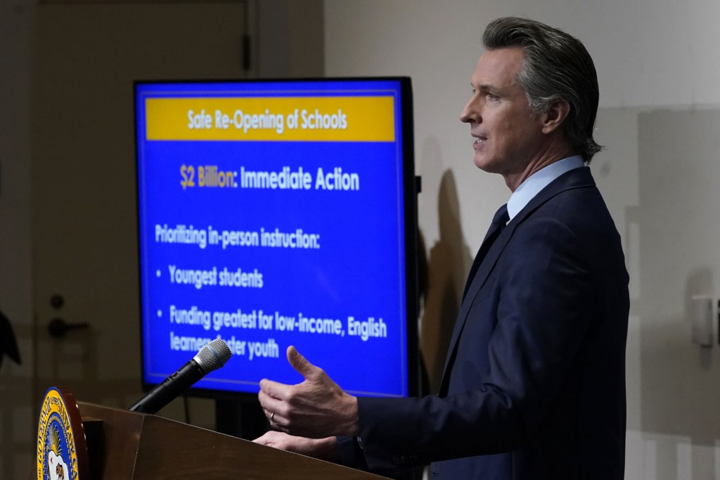 California Governor Builds Big Budget Plan On One Time Cash