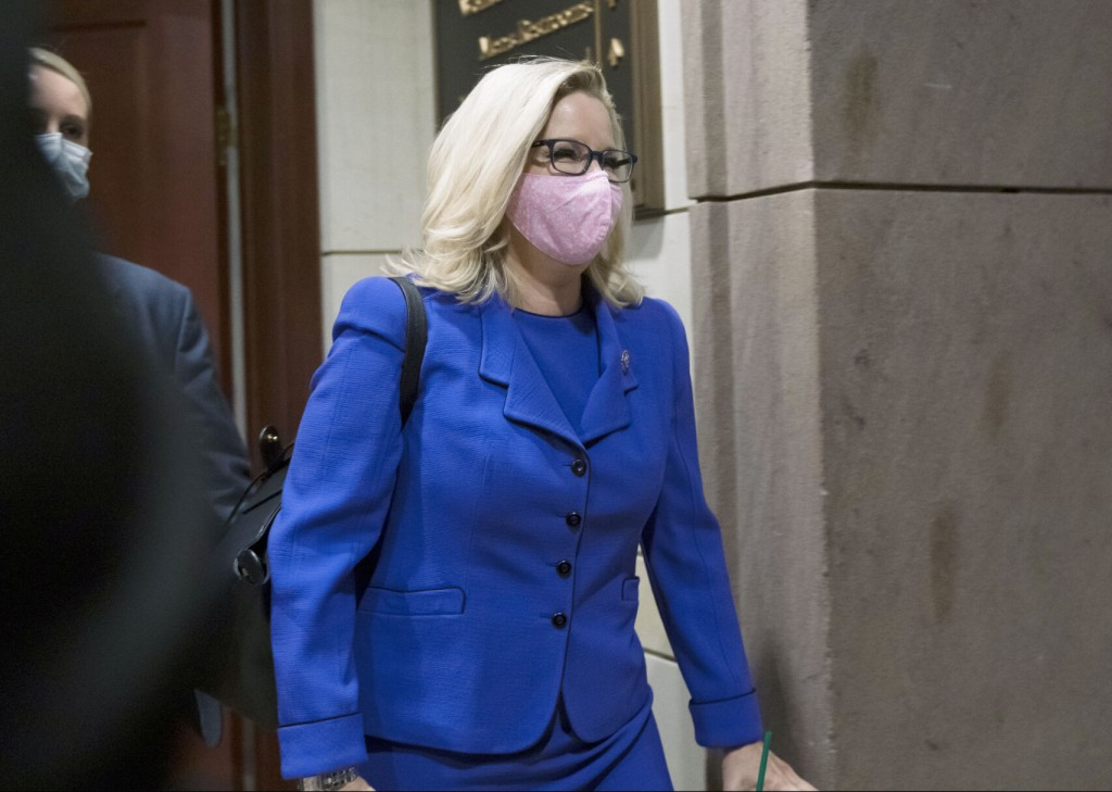 House Gop Ousts Trump Critic Liz Cheney From Leadership Post