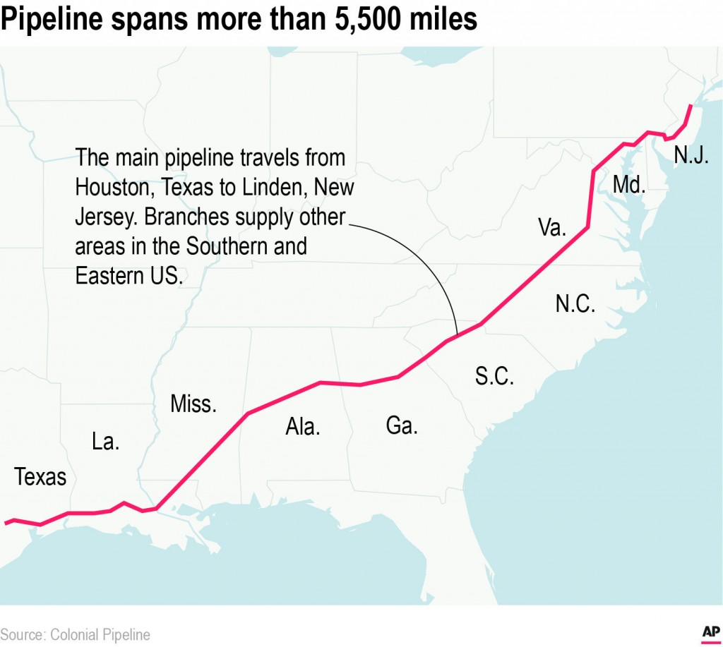 Scramble On For New Fuel Routes As Panic Buying Leaves Gas Stations Out Of Fuel In Southeast Us
