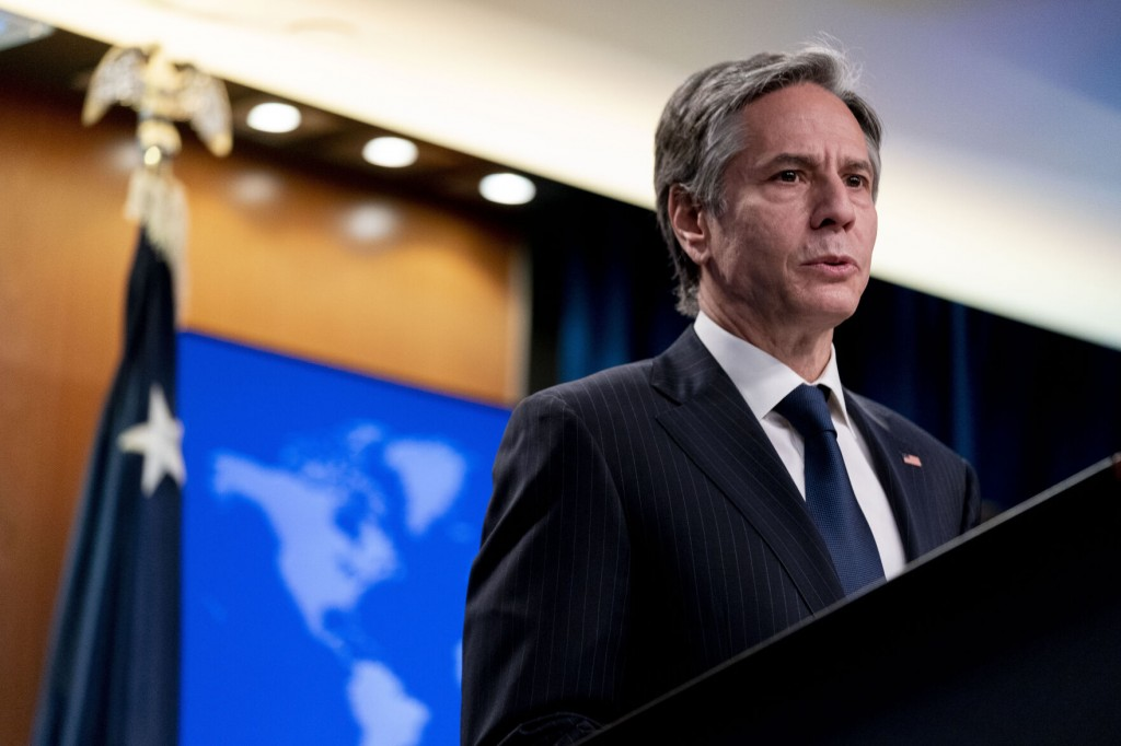 Blinken Stresses Us Resolve In Call With Russian Diplomat