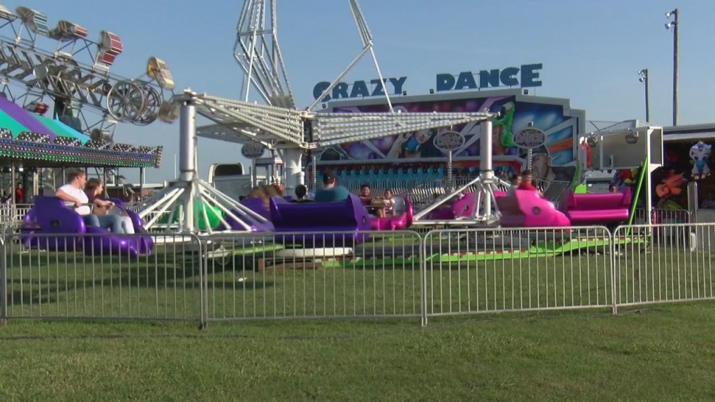 The Carnival Is In Town In Commerce, Oklahoma