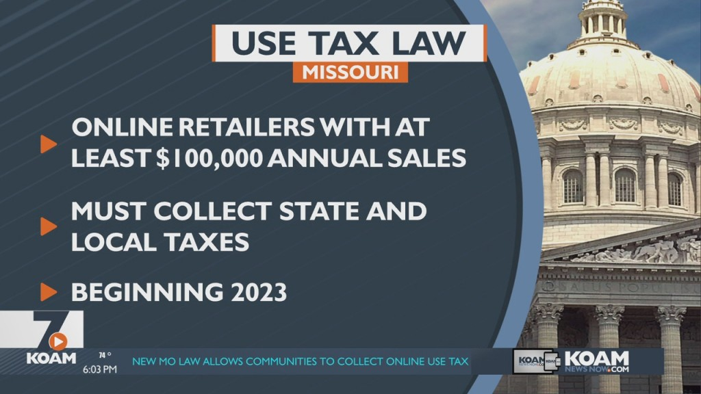 Missouri To Add Sales Tax To Online Purchases
