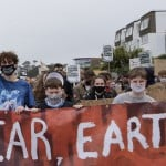 The Latest: Climate Protests Get Creative For G7 Summit
