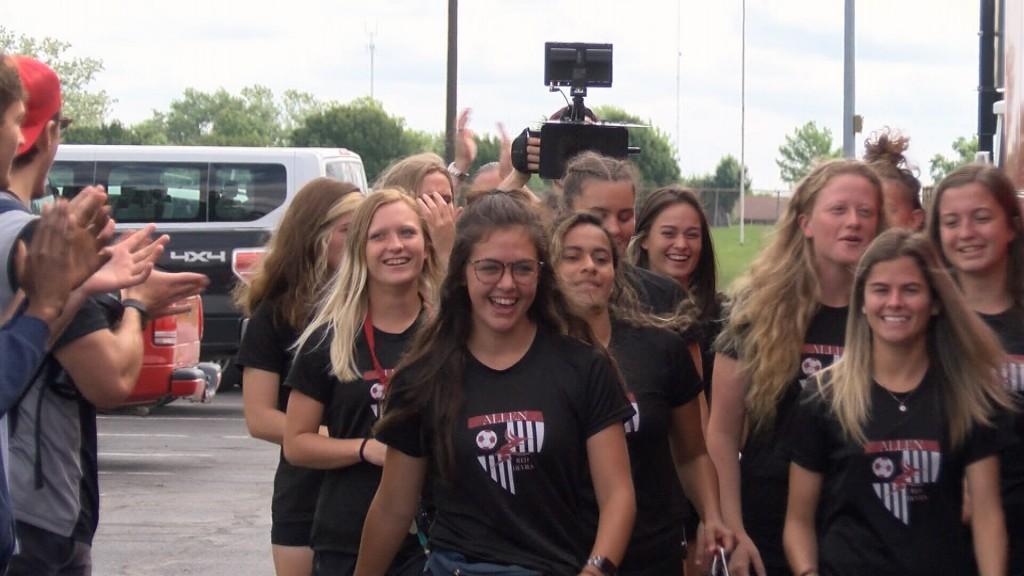Allen Cc Women's Soccer Hits The Road To Nationals