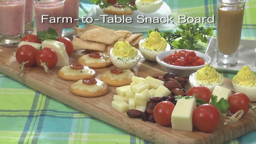 Mr. Food: Farm To Table Snack Board (6 1)