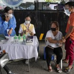 The Latest: Leader Threatens Filipinos Who Refuse Vaccine