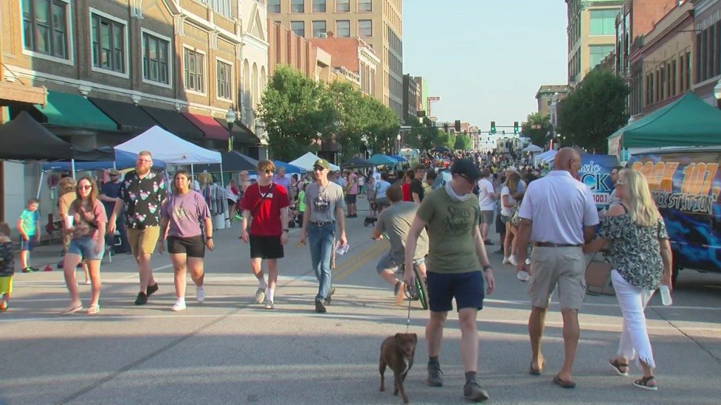 Today Is The Third Thursday Of The Month, Which Means Joplin's Downtown Was Full Of Entertainment