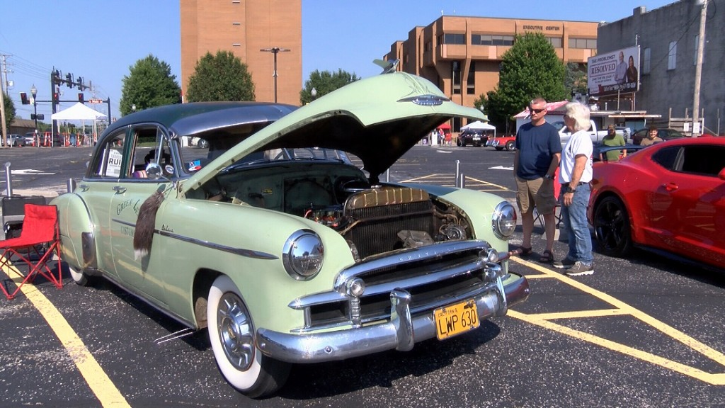 1950 Chevy Deluxe At Third Thursday Car Show