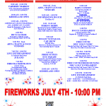 Pittsburg 2021 Schedule Of Events Poster