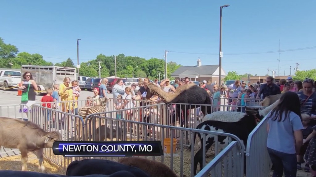 Exotics Petting Zoo Brings Some Guests To Newton County Library
