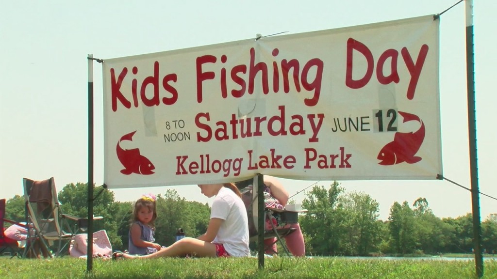 Kid's Fishing Day At Kellogg Lake In Carthage Is Back In Business.