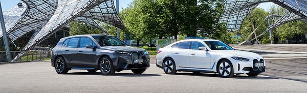 Bmw Doubles Down On Electrification, Debuts New 2022 I4 Sedan And Ix Suv