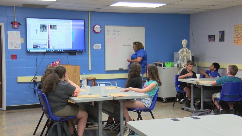 Area Middle Schoolers Are Getting A Small Taste Of College Life At Crowder College In Neosho