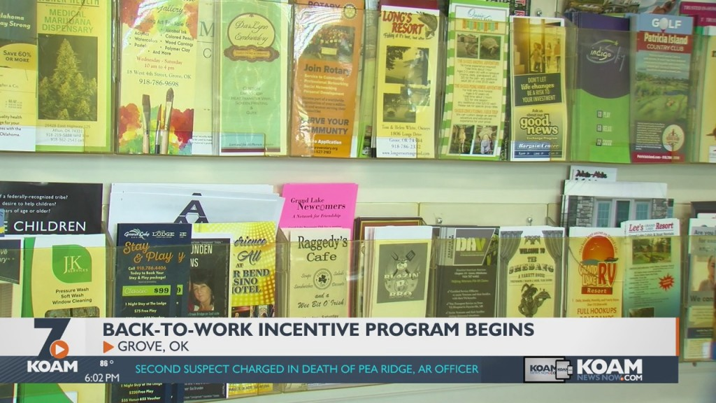 This Week Marks The Beginning Of A Program Aimed At Getting Oklahomans Back To Work