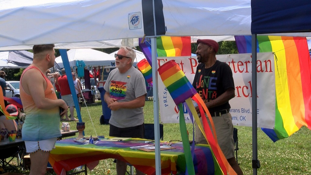 Folks Have A Good Time At Miamis Pride Festival