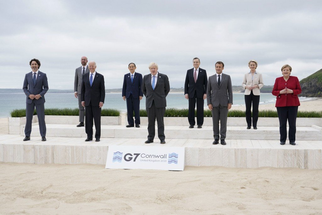 G7 Nations Agree To Give 1b Vaccine Doses To Poor Nations, Challenge China