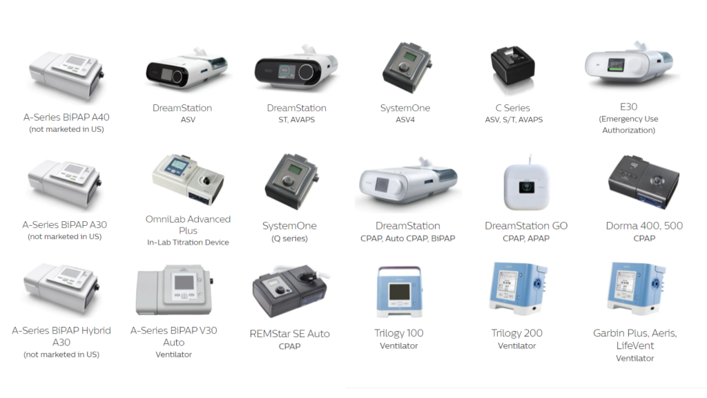 Cpap Philips Product Recall