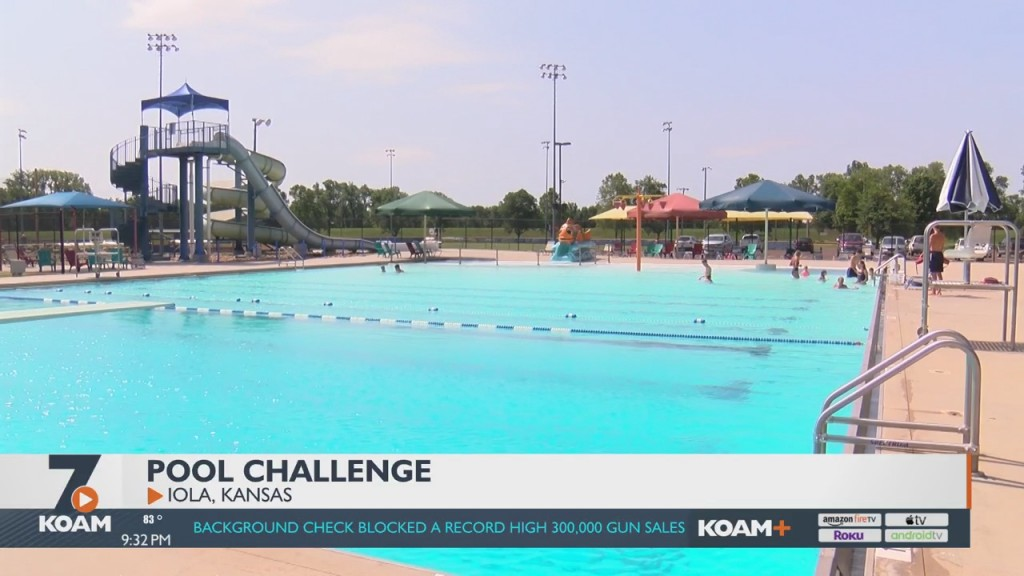Iola Businesses Pay For Pool Admission