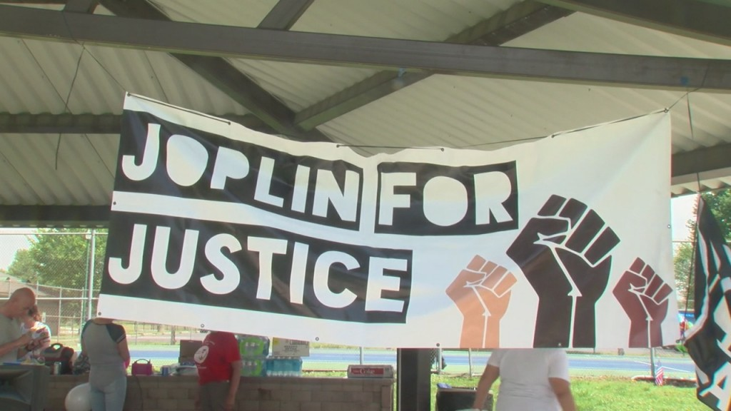 Today Marks One Year After Joplin For Justice Was Founded, They Celebrated Today At Ewert Park