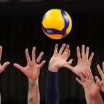 Glimpses: In Olympic Volleyball, Hands From The Darkness