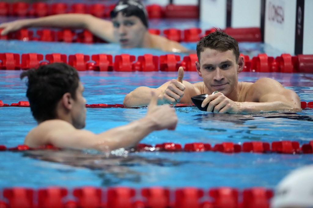 """Olympics Latest: Us Swimmer Says Races """"probably Not Clean"""""""