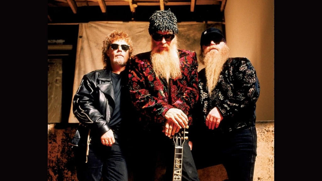 Left To Right Frank Beard Billy Gibbons Dusty Hill