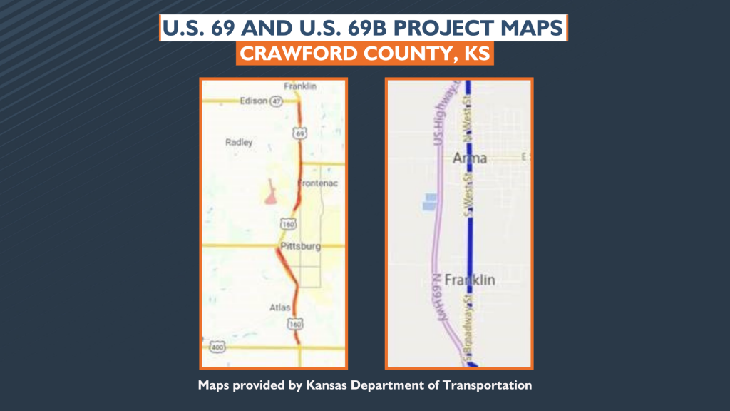Us 69 And Us 69b Project Maps