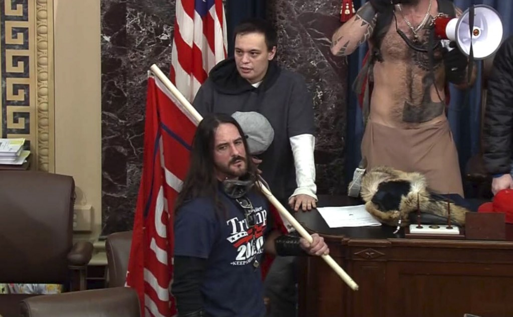 Capitol Rioter Who Breached Senate Sentenced To 8 Months In Prison