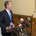 Kemp Seeks To Blame Biden For Georgia's Low Vaccination Rate