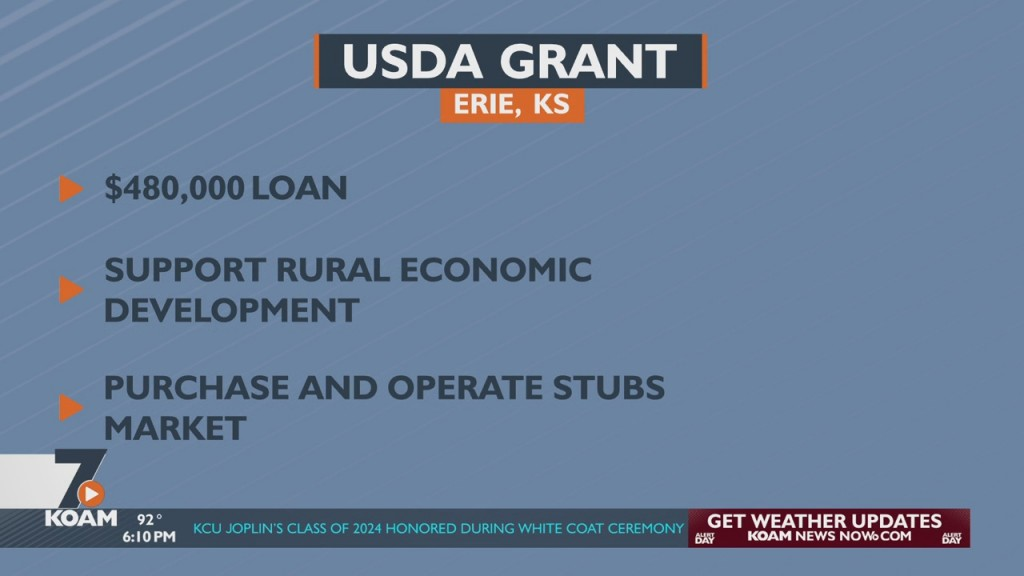 Erie Receives Usda Loan To Help With Area Grocery Store
