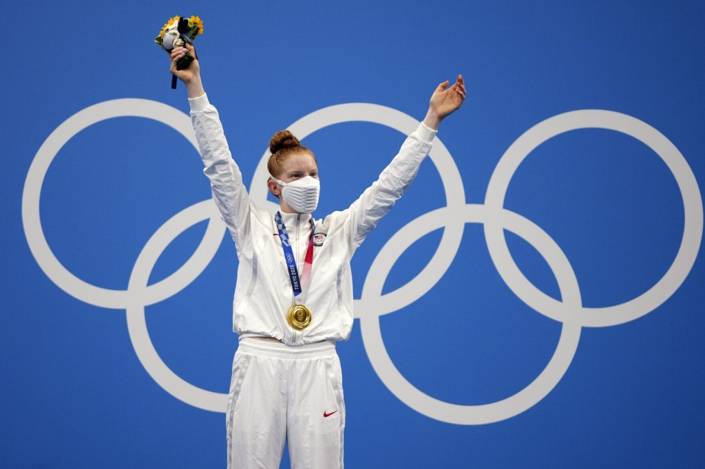 Doing It For The A: Alaska's First Olympic Swimmer Wins Gold