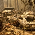 Winds Feed California's Largest Fire As Blazes Scorch West